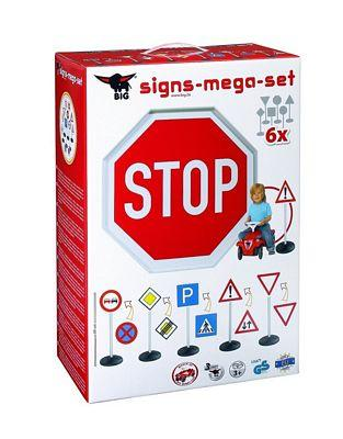BIG TRAFFIC SIGNS MEGA SET