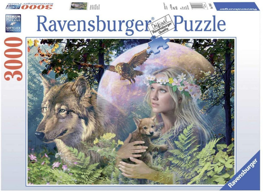 RAVENSBURGER LADY OF FOREST 3000PC