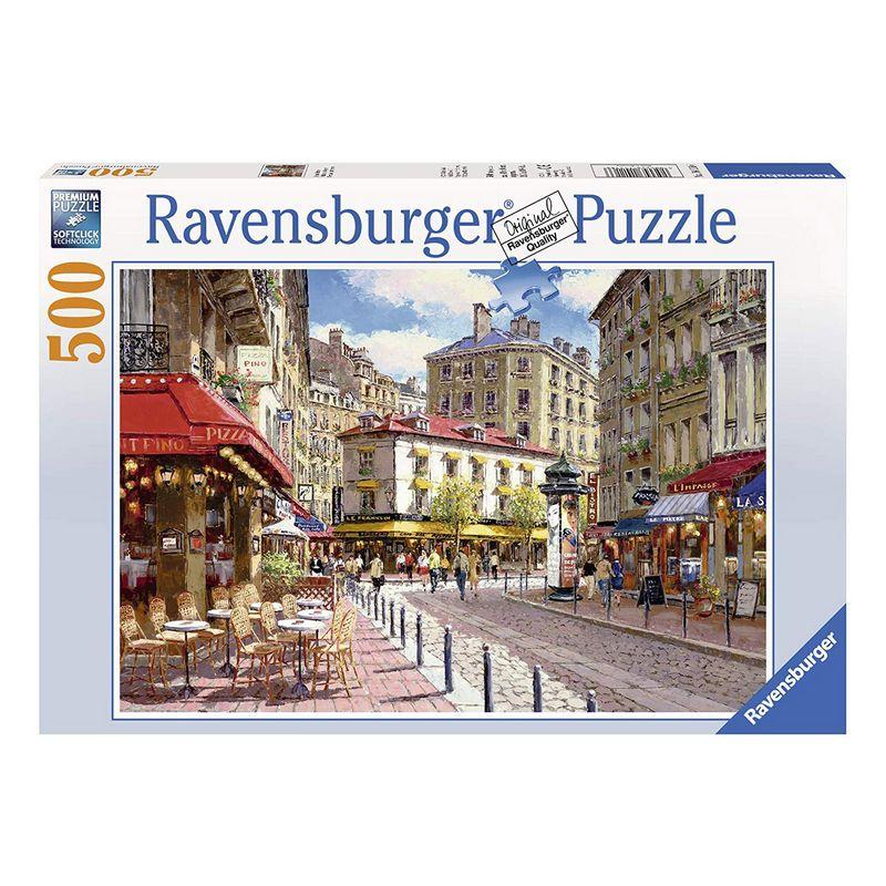 RBURG QUAINT SHOPS PUZZLE 500PC