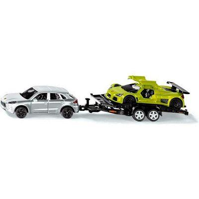 SIKU CAR AND TRAILER 1:55 SCALE