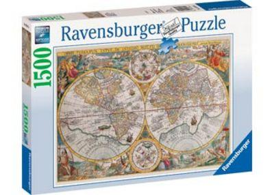 RAVENSBURGER HISTORICAL MAP PUZZLE 1500P