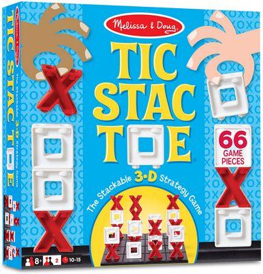 MELISSA & DOUG TIC STAC TOE GAME