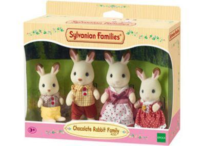 SYLVANIAN FAMILIES CHOCOLATE RABBIT FAMI