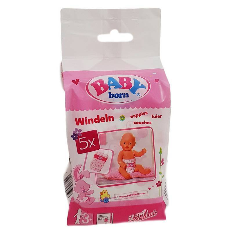 BABY BORN NAPPIES