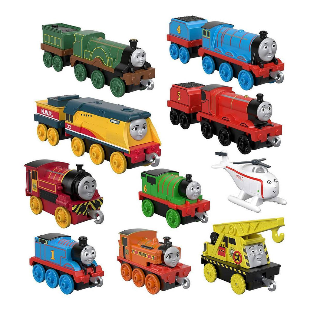 GFF07 THOMAS PUSH A LONG ENGINE 10 PACK