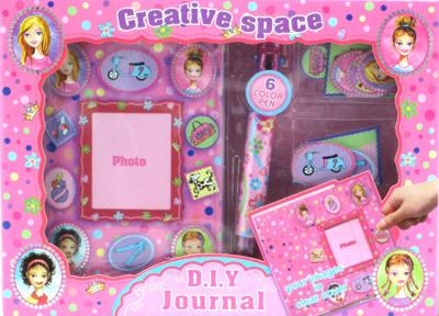 DIY CREATIVE JOURNAL PEN AND STICKERS