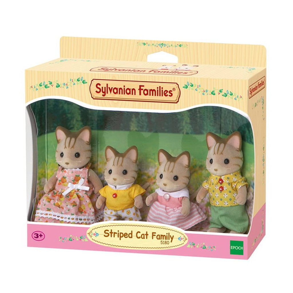 SYLVANIAN FAMILIES STRIPED CAT FAMILY