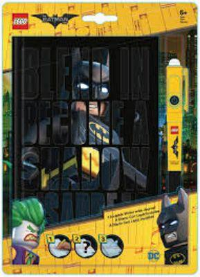 LEGO MOVIE BATMAN JOURNAL w INVISIBLE WR