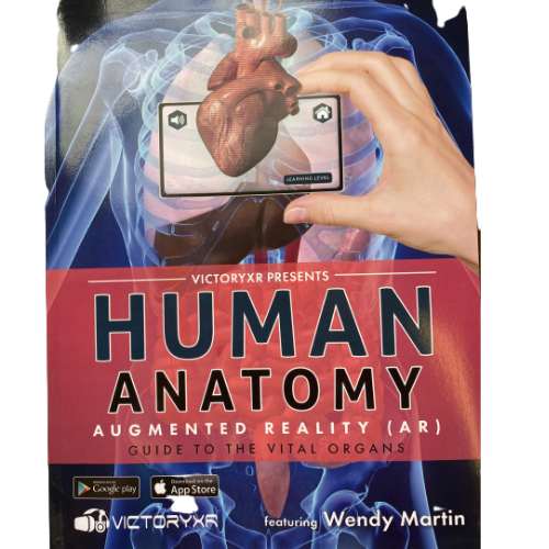 Human Anatomy Augmented Reality Book Student Edition