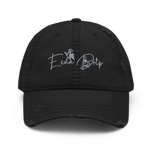 Ecua Drip Distressed Dad Hat