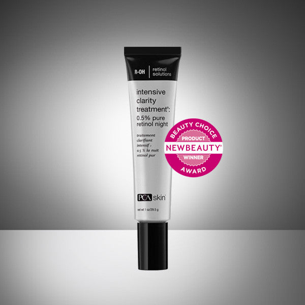 Intensive Clarity Treatment: 0.5 pure retinol night