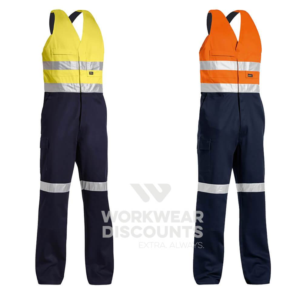Bisley BAB0359T Hi-Vis Taped Action Back Overall