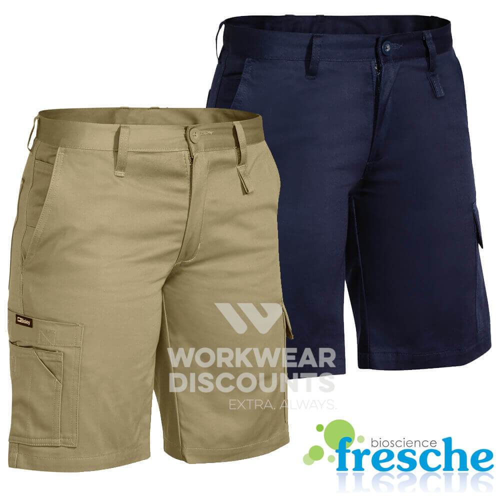 Bisley BSHL1999 Ladies Lightweight Cotton Drill Utility Shorts