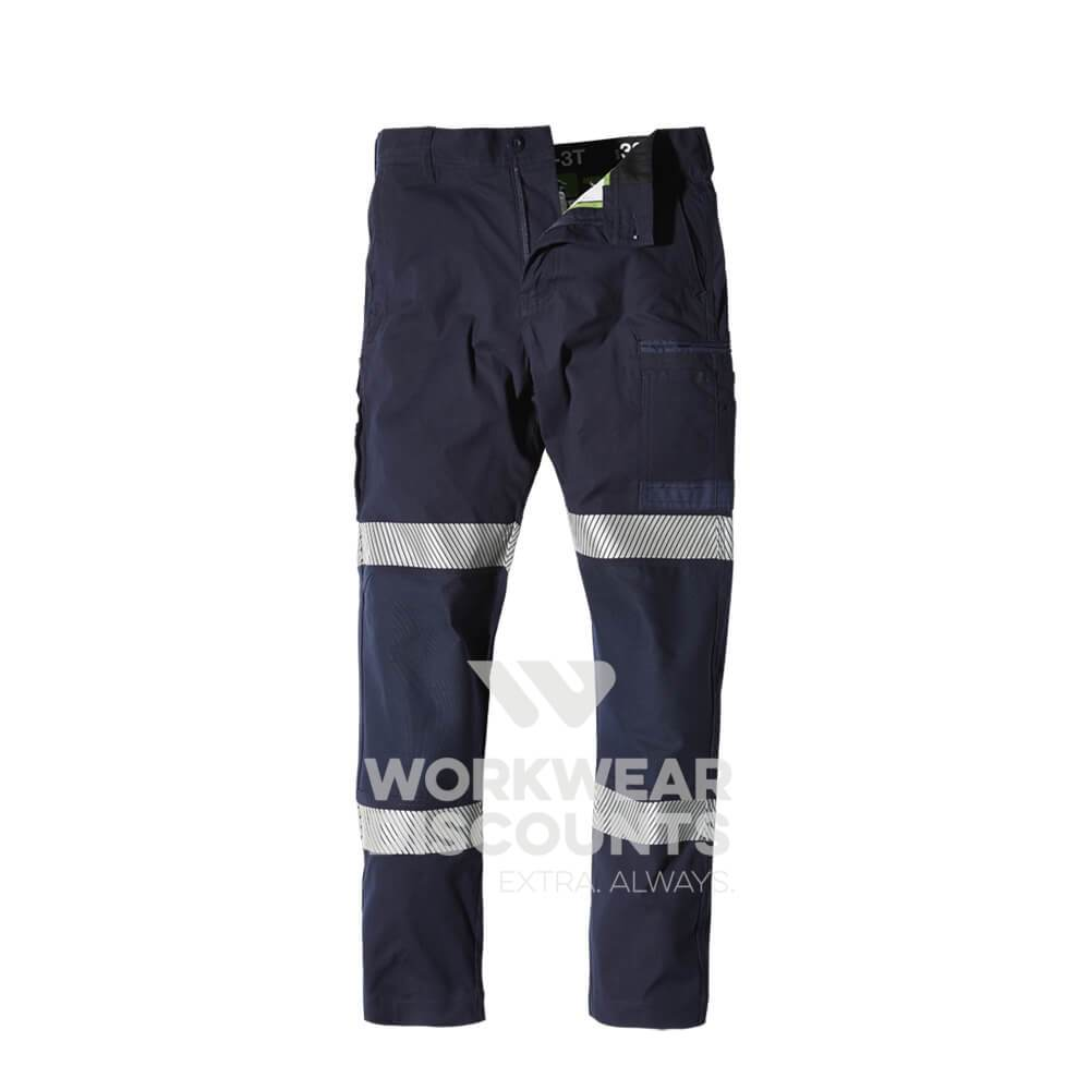 FXD WP3T Taped 360 Stretch Cotton Work Pants