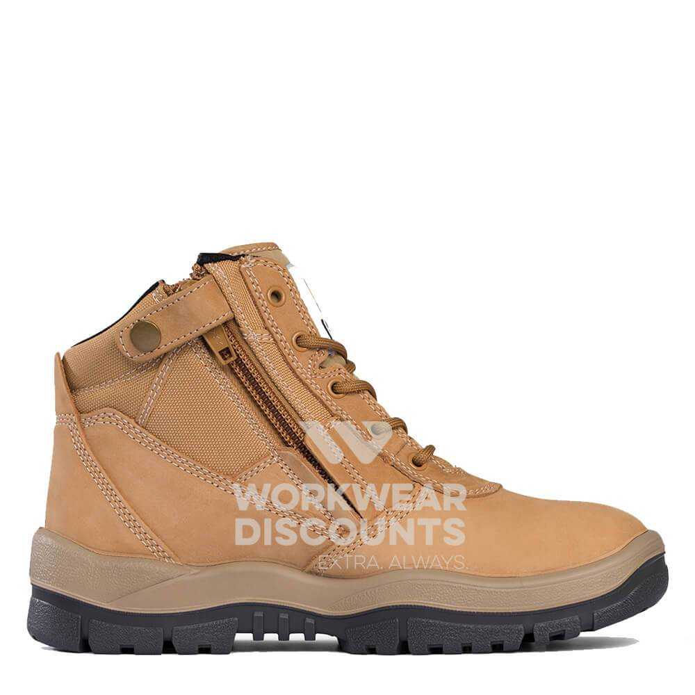 Mongrel 261050 Wheat ZipSider Steel Cap Boots View 1