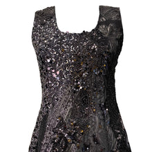 Load image into Gallery viewer, Short Dress With Sequins And Lace