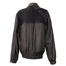 Load image into Gallery viewer, Unisex Black Jacket With Sequined Details