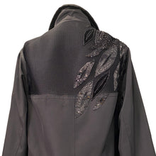 Load image into Gallery viewer, Unisex Black Jacket With Sequined Embroidery