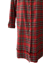 Load image into Gallery viewer, Red tartan shirt - Regular fit