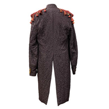Load image into Gallery viewer, Brocade Tailcoat With Burgundy Details