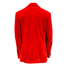 Load image into Gallery viewer, Red Velvet Jacket