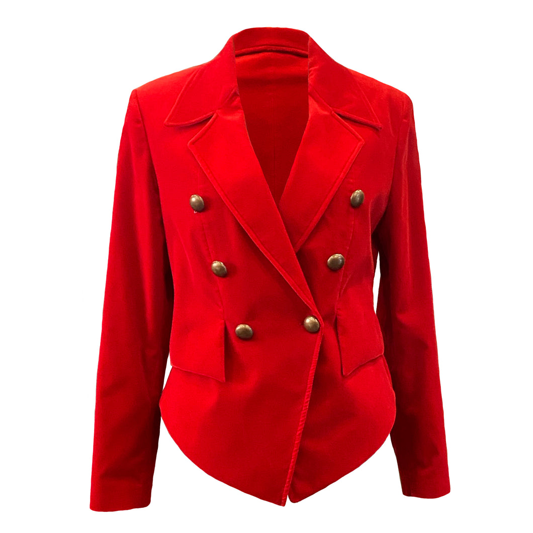 Red Velvet Women's Blazer