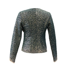 Load image into Gallery viewer, Green Sequin Jacket