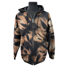 Load image into Gallery viewer, Unisex Tie-Dye Hoodie With Zipper
