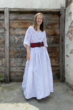 Load image into Gallery viewer, Perfection/Authenticity - White Hand-Painted Dress