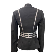 Load image into Gallery viewer, Black Jacket With Hand-Painted Harness