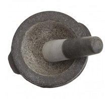Load image into Gallery viewer, Granite Mortar And Pestle With Side Loop