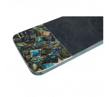 Load image into Gallery viewer, Large Black Slate/Paua Shell Paddle Board