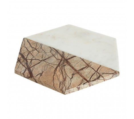 White / Brown Forest Marble Chopping Board