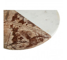 Load image into Gallery viewer, White / Brown Marble Round Paddle Board