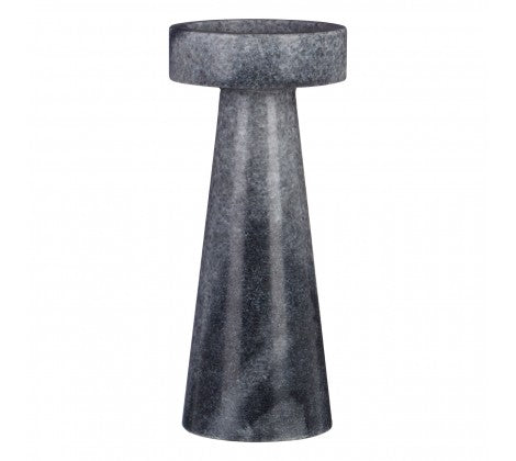 Grey Marble Candle Holder (Small)