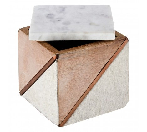 Cowhide Small Trinket Box