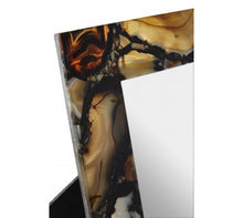 Load image into Gallery viewer, Black Agate 5 X 7 Photo Frame