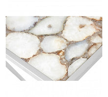 Load image into Gallery viewer, White Agate Console Table