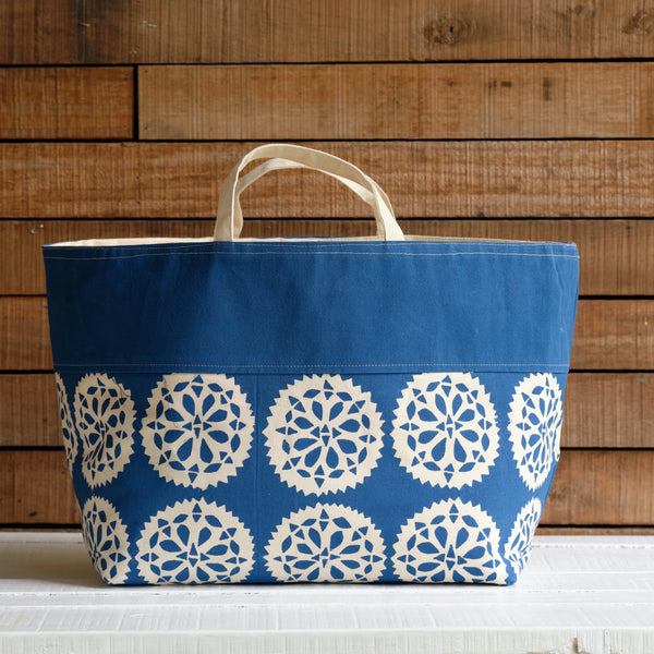Tote - Small Mandala Print, Large