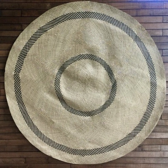 Double Drodro Circle Round Mat