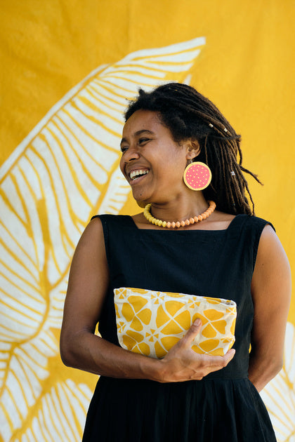 Handcrafted YAWA! Masi Tropical Fruit Earrings