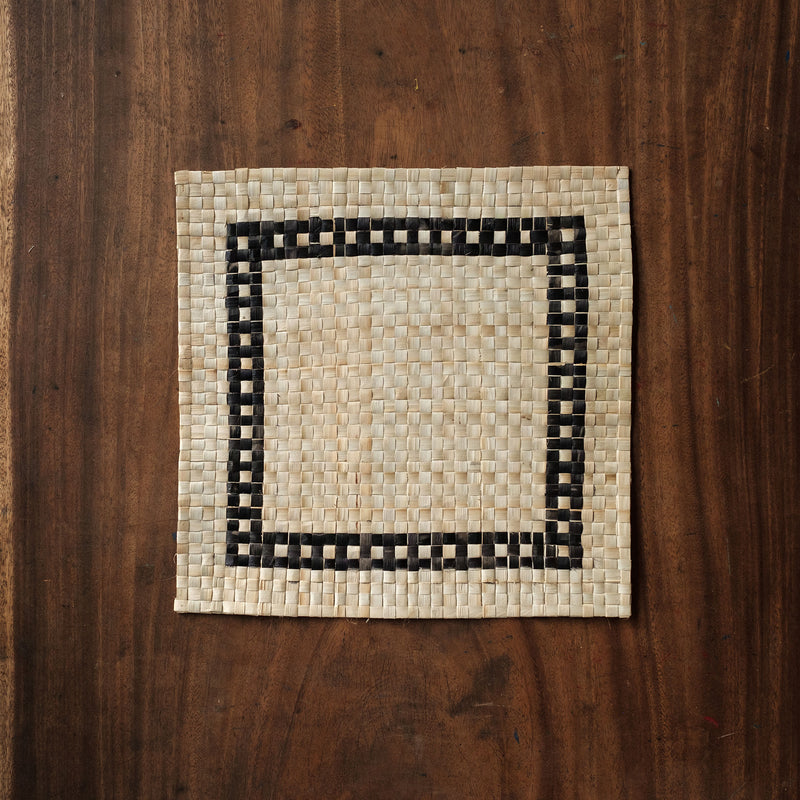 Square Table Mat Set of Four (4) Bati Ta Druku
