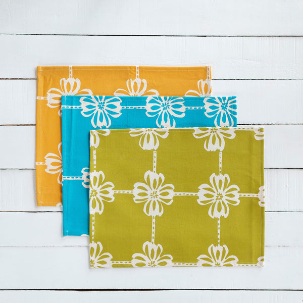 Canvas Table Mat Set of Four (4)