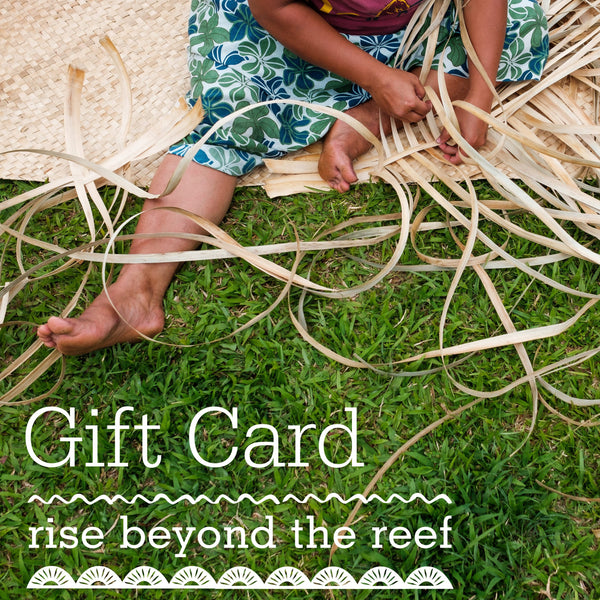 Rise Beyond the Reef Gift Card