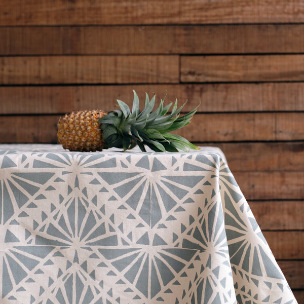 Handprinted Tablecloth - Delana Print