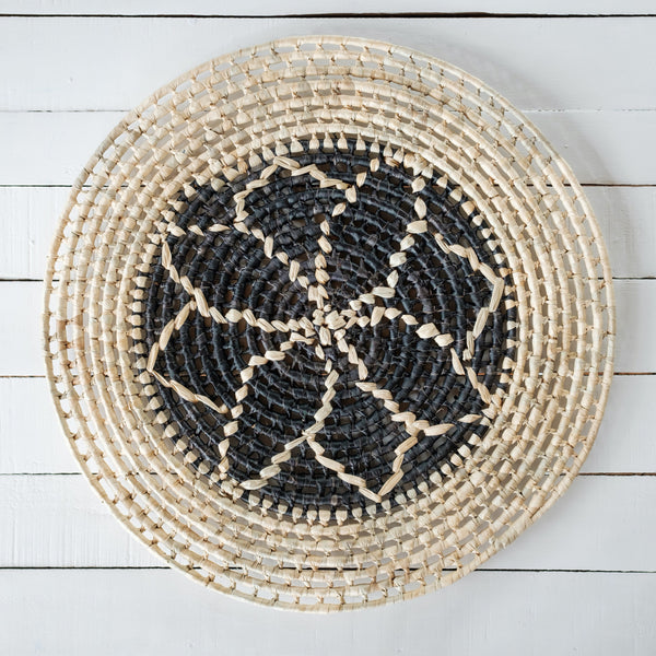 Sasa Voivoi Wall Hanging - Double Bua Black