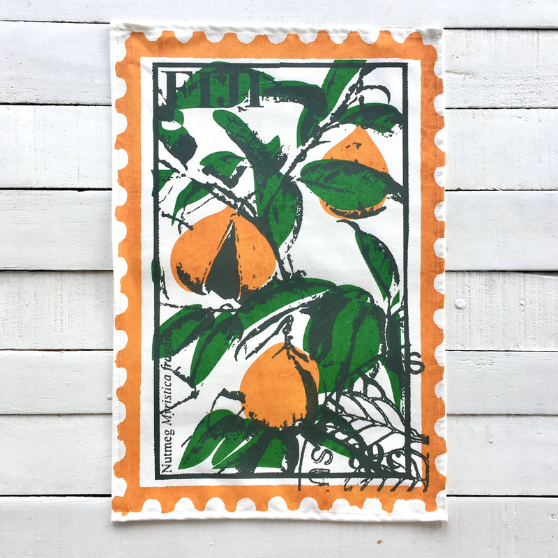 Stamp Print Tea Towels