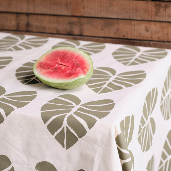 Handprinted Tablecloth - Via Print