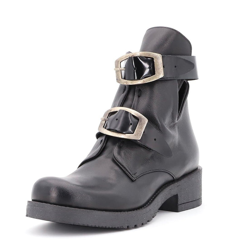 Stivaletto Biker Nero - Ripa Shoes