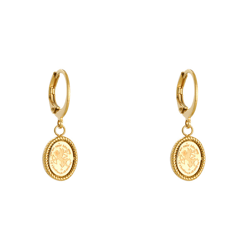 Earring Cupid Gold